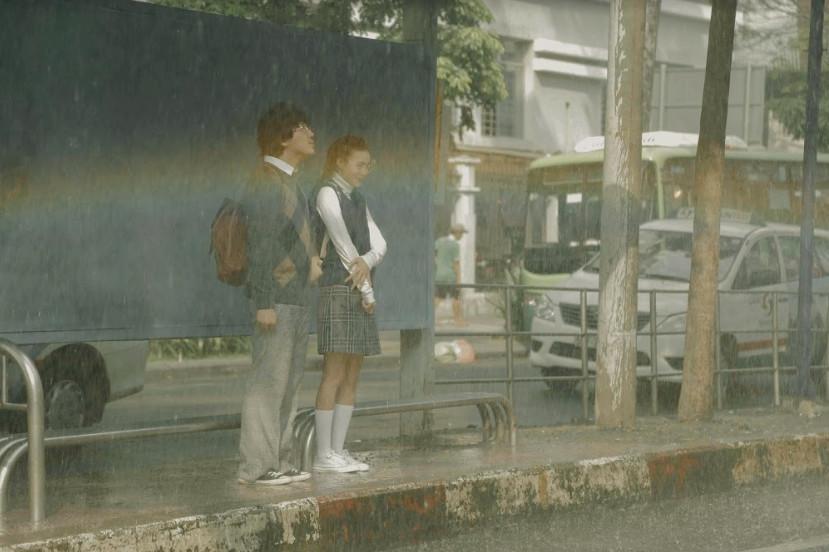 cua lai vo bau trailer 02 9bb326 Trấn Thành và Lan Ngọc nảy sinh chuyện tình thời sinh viên trong phim Tết   Cua Lại Vợ Bầu