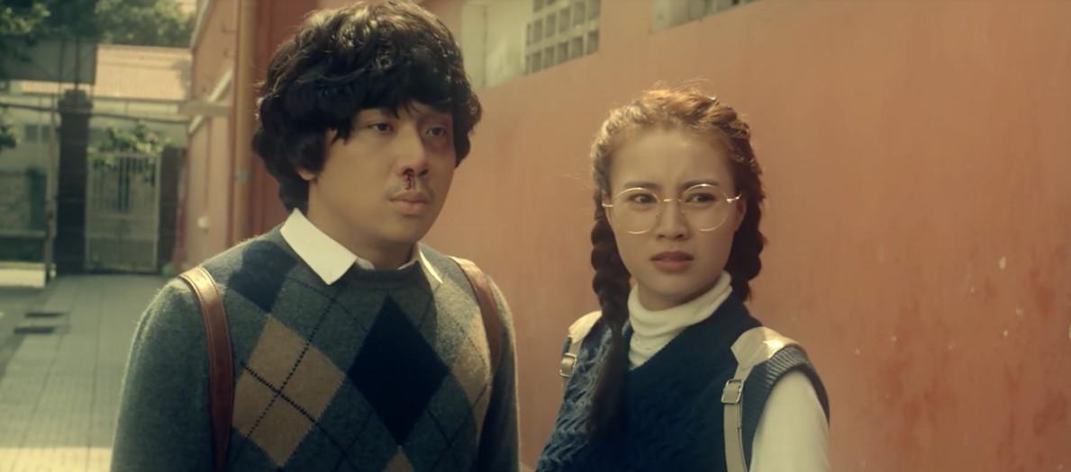 cua lai vo bau trailer 04 fef94d Trấn Thành và Lan Ngọc nảy sinh chuyện tình thời sinh viên trong phim Tết   Cua Lại Vợ Bầu